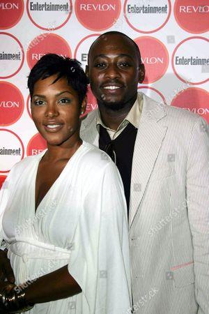 Keisha Spivey and Omar Epps