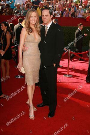 Janel Moloney and Alex Manette