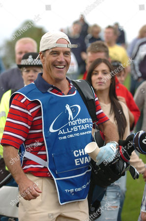 Richard Burgi as Chris Evans' caddy