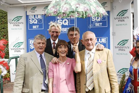Derek Martin, June Brown, Billy Murray and John Bardon