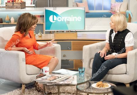 Editorial photo of 'Lorraine' TV show, London, UK - 03 Oct 2016