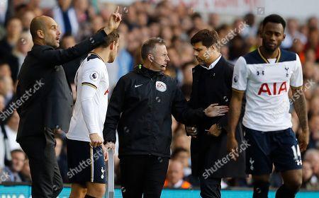 Editorial photo of Tottenham Hotspur v Manchester City, Premier League football match, London, UK - 02 Oct 2016