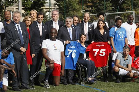 Editorial picture of International Olympic Committee President Thomas Bach visit to Paris, France - 02 Oct 2016