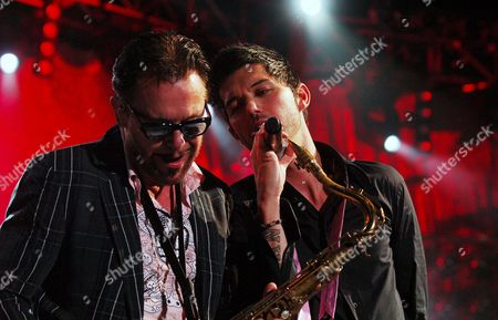 INXS - Kirk Pengilly and JD Fortune