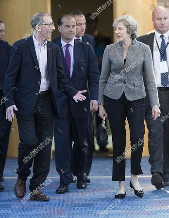 Theresa May and Philip John May