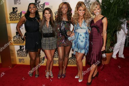 Danity Kane - Wanita Woodgett, Aundrea Fimbres, Dawn Richard, Aubrey O''Day and Shannon Bex
