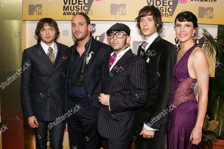 OK Go - Andy Ross, Dan Konopka, Tim Nordwind, Damien Kulash and guest