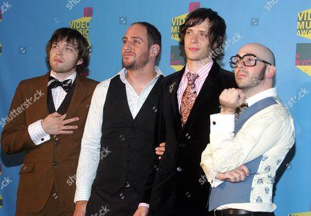 OK Go - Andy Ross, Dan Konopka, Damien Kulash and Tim Nordwind
