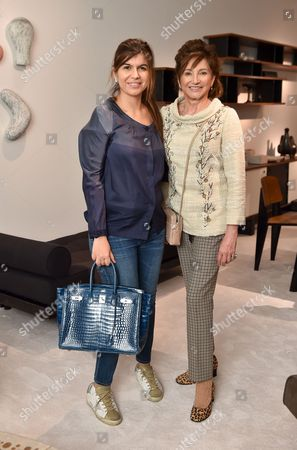 Priya Van Der Vala and Dorrit Moussaieff