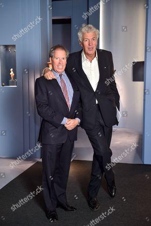 Viscount David Linley and Henry Wyndham