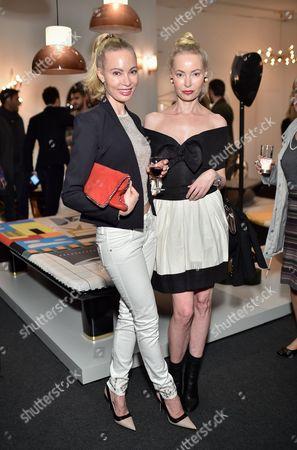 Stock Photo of Mia Fahler and Eva Fahler