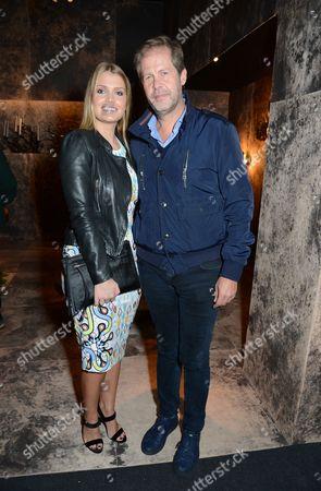 Stock Photo of Lady Kitty Spencer and Niccolo Barattieri
