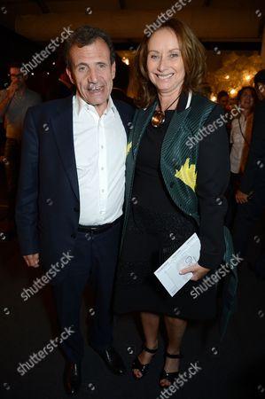 Anita Zabludowicz and Poju Zabludowicz