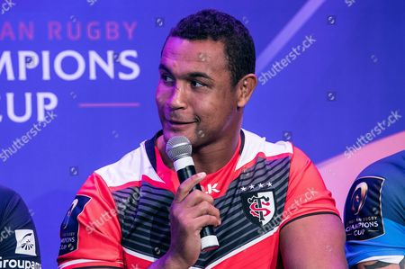 2016/2017 EPCR European Rugby Champions Cup & European Rugby Challenge Cup Launch, Paris, France 3/10/2016. Thierry Dusautoir of Toulouse