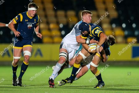 Editorial photo of Worcester Cavaliers v Newcastle Falcons Development Team, UK - 03 Oct 2016