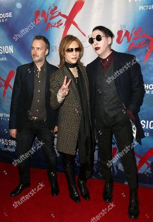 Stephen Kijak, Marilyn Manson and Yoshiki