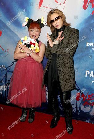 Yuko Yamaguchi and Yoshiki