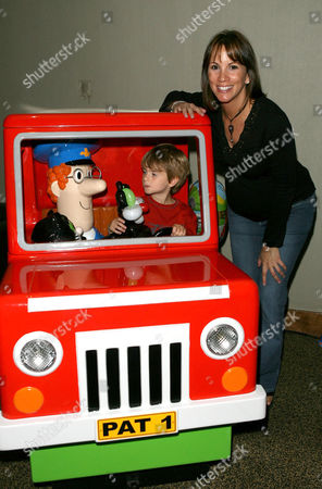 Editorial photo of Postman Pat 25th Anniversary Party, Kensington Roof Gardens, London, Britain - 02 Sep 2006