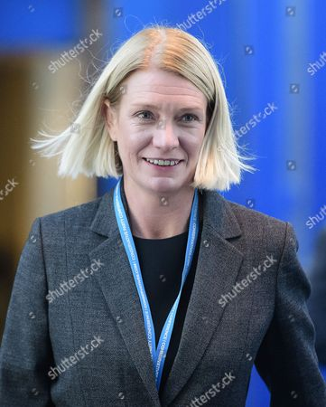 MP for Cannock Chase Amanda Milling attends the 2016 Conservative Party Conference.