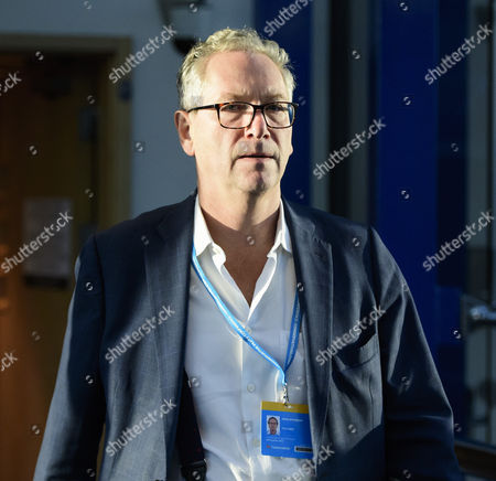 Stock Picture of Editor of The Times of London John Witherow attends the 2016 Conservative Party Conference.