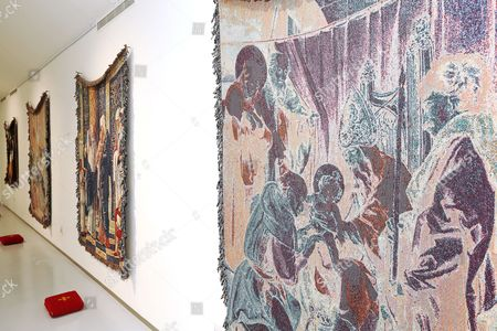 Stock Photo of 'The Circumcision of Christ and Modern Oblivion' exhibition