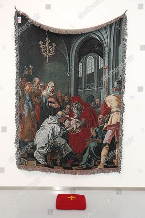 Stock Image of 'The Circumcision of Christ and Modern Oblivion' exhibition