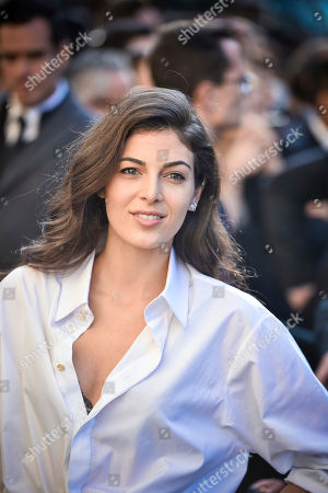 Stock Photo of Lebanese actress Razane Jammal arrives at Chanel Spring-Summer 2017 ready-to-wear collection presented in Paris