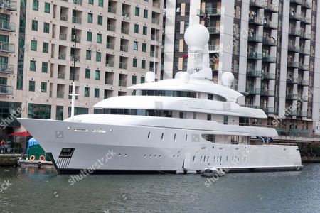 'Ilona' super yacht owned by Frank Lowy