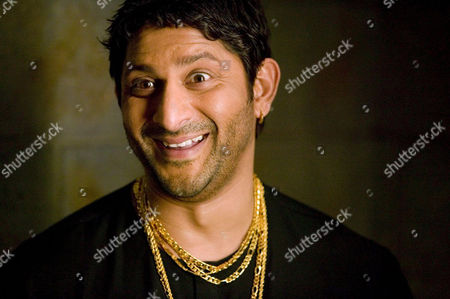 Indian film star Arshad Warsi who plays Circuit in a scene from the film comedy 'Lage Raho Munna Bhai'