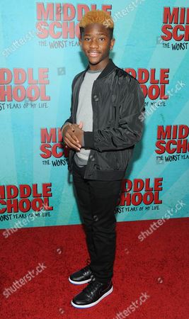 Editorial image of 'Middle School: The Worst Years of My Life' film screening, Arrivals, New York, USA - 01 Oct 2016