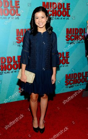 Editorial picture of 'Middle School: The Worst Years of My Life' film screening, Arrivals, New York, USA - 01 Oct 2016