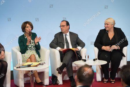 Editorial image of Adaptation de la societe au vieilissement, Paris, France - 04 Oct 2016