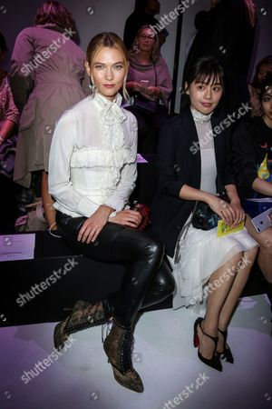 Karlie Kloss and Ma Sichun