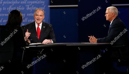 Editorial photo of US Vice Presidential debate, Farmville, Virginia, USA - 04 Oct 2016