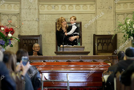 Editorial picture of Abe Vigoda Funeral, New York, USA