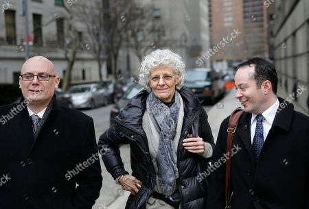 Ann Freedman Ann Freedman, center, former director of Knoedler & Company art gallery, leaves a courthouse in New York, . Domenico De Sole, the chairman of the board at Sotheby's auction house, is suing the gallery over a fake Rothko painting he bought for $8.3 million, which was actually painted by a Chinese immigrant in his garage