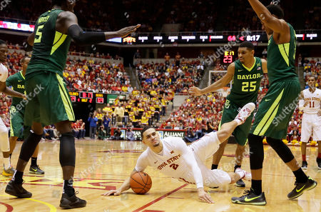 Editorial image of Baylor Iowa St Basketball, Ames, USA