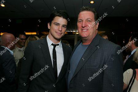 Josh Hartnett and Mike Starr