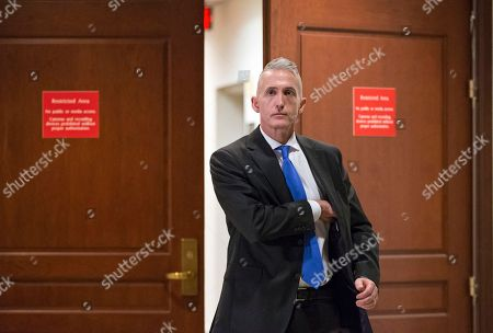 Trey Gowdy House Benghazi Committee Chairman Rep. Trey Gowdy, R-S.C. emerges from a restricted area in the Capitol in Washington, as the committee's investigation continues into the 2012 terrorist attacks on the U.S. consulate in Benghazi, Libya, where a violent mob killed four Americans, including Ambassador Christopher Stevens. The panel is questioning former Department of Defense chief of staff Jeremy Bash who served with former Defense Secretary Leon Panetta at the Pentagon and at the CIA