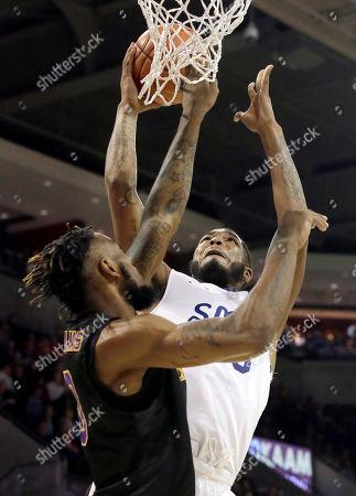 Editorial picture of East Carolina SMU Basketball, Dallas, USA