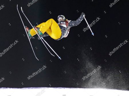Devin Logan Devin Logan, of the United States, jumps during the Big Air at Fenway skiing and snowboarding U.S. Grand Prix tour event at Fenway Park, in Boston