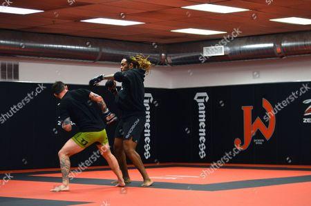 Editorial image of Gym Champion Factory, Albuquerque, USA