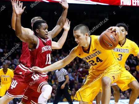 Editorial photo of Indiana Minnesota Basketball, Minneapolis, USA