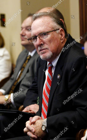 Jim Simpson Jim Simpson, a former member of the House, and a commissioner at the Mississippi State Port at Gulfport, listens as House Ways and Means Committee members discuss the incentives for a tire plant in western Hinds County and a shipyard in Gulfport, at the Capitol in Jackson, Miss. Gov. Phil Bryant set Thursday's special session for two economic development projects that could create 3,500 jobs. The legislation passed through the committee and on chamber floors and was forwarded to the Senate for consideration