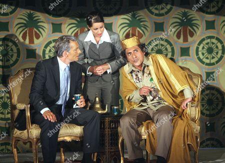 'Gaddafi : A Living Myth' - Nigel Cooke, Funda Onal, Ramon Tikaram