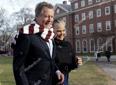 """Ryan O'Neal, Ali MacGraw Actors Ryan O'Neal, left, and Ali MacGraw walk on the campus of Harvard University in Cambridge, Mass., more than 45 years after the release of their 1970 classic """"Love Story."""" The duo, now in their 70s, currently are co-starring in a national tour of """"Love Letters,"""" which is about a man and a woman who maintain contact over 50 years through notes, cards and letters"""