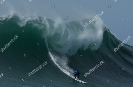 Editorial photo of Mavericks Surf Competition, Half Moon Bay, USA