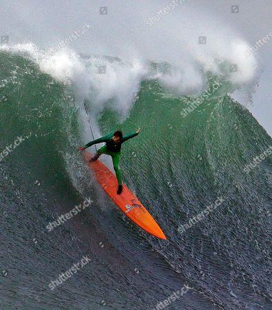 Editorial image of Mavericks Surf Competition, Half Moon Bay, USA