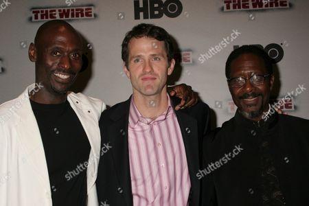 Lance Reddick, Jim True-Frost, Clarke Peters