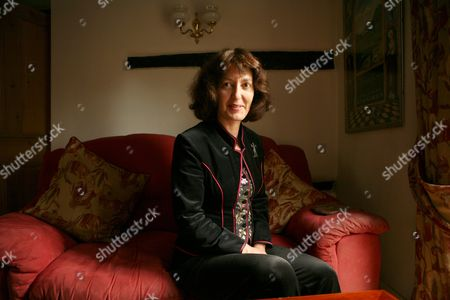 Geraldine McCaughrean, who has written the authorized sequel to Peter Pan, 'Peter Pan in Scarlet', at her country cottage home. The officially sanctioned sequel to J. M. Barrie's classic will be launched on October 5th. McCaughrean, who has published 125 books for children was chosen in a competition organised by Great Ormond Street Hospital for Children which holds the British literary rights to the original